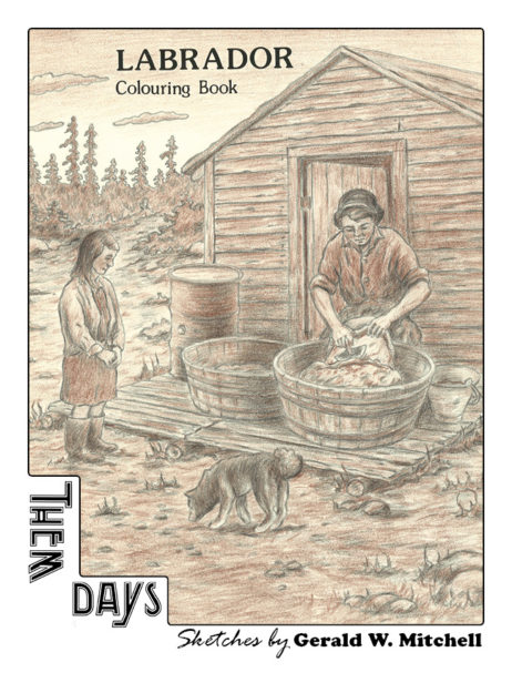 Labrador Colouring Book -- Sketches by Gerald W. Mitchell